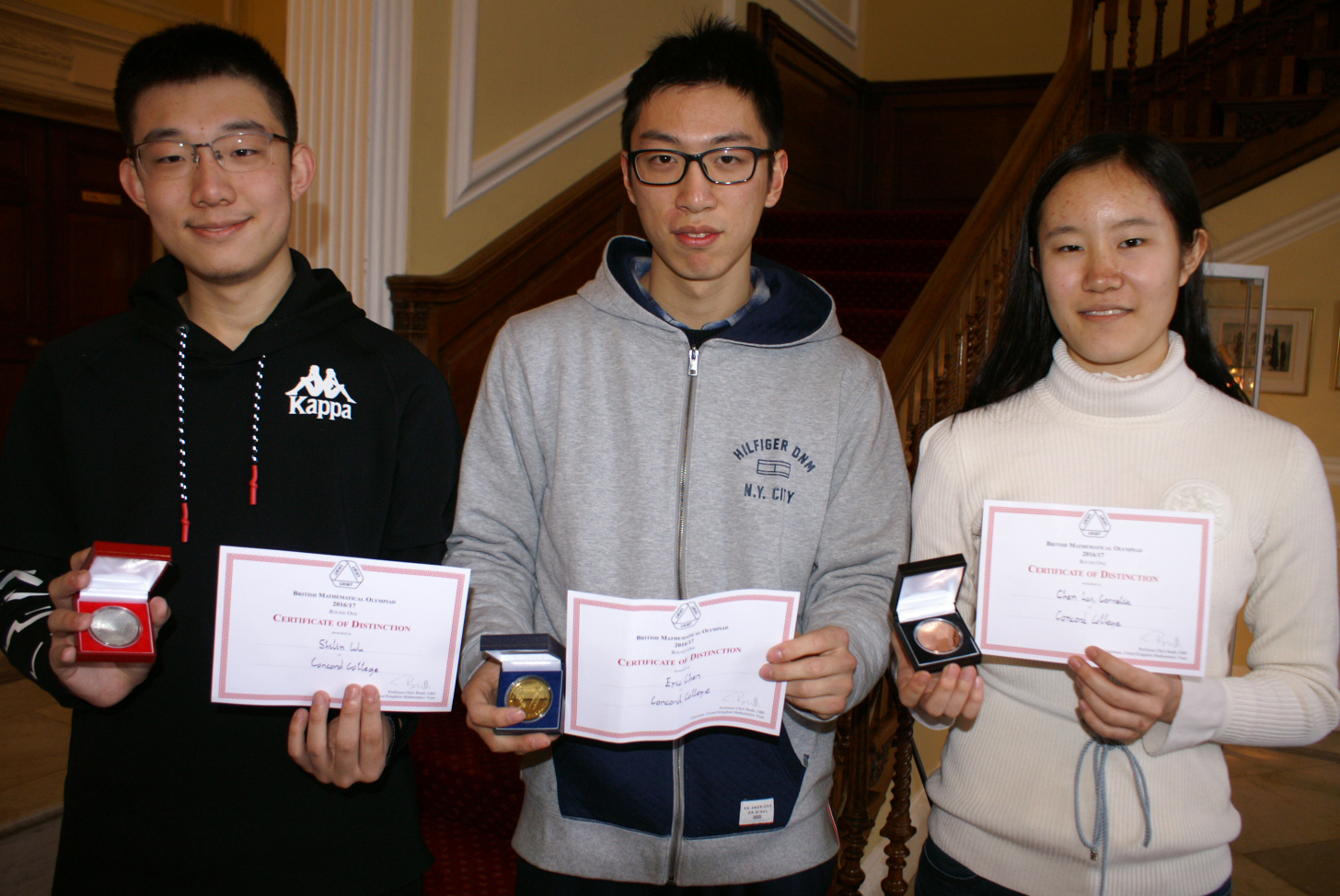 Concord maths students among the best in the country